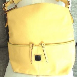 Dooney & Bourke Yellow Hobo